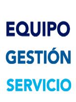 equipo gestión y servicio